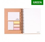 RINGE5 - Recycled A5 collegeNotebook (hard cover). Min 250 pcs.